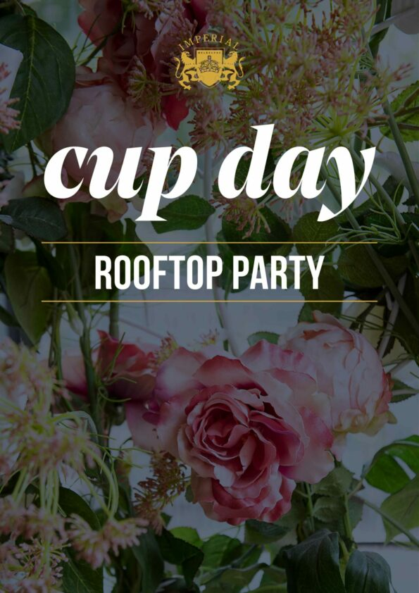 Cup Day Rooftop Party